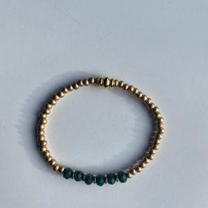 Armband emerald