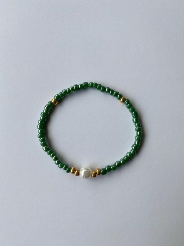 Armband Smaragd