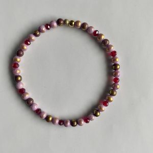 Armband Rosered