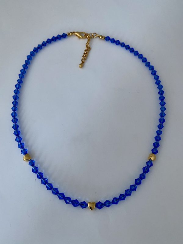 Ketting Princess blue