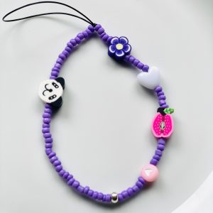 Auto Sleutelhanger Lilac