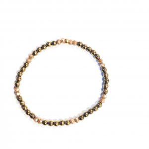 Armband Hematiet