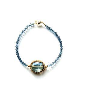 Armband Blue Diamond